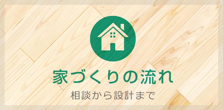 家づくりの流れ 相談 設計 施工