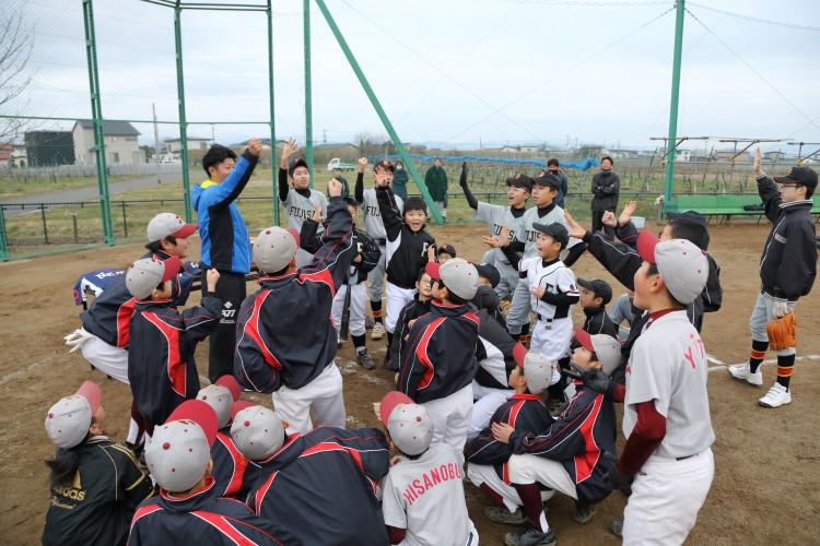藤崎 野球教室